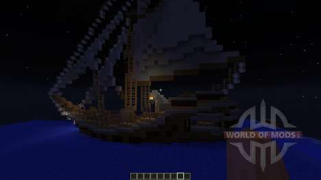Nordic Ship for Minecraft