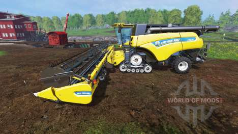New Holland CR10.90 v1.1 for Farming Simulator 2015
