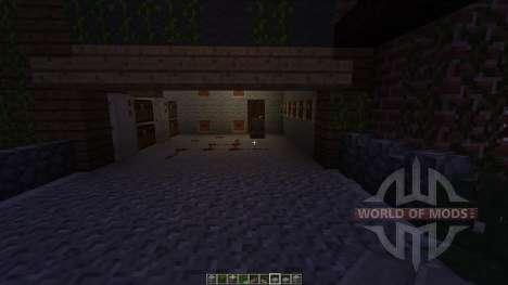Mountain Piston House for Minecraft