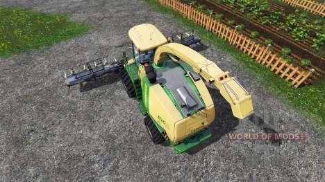 Krone Big X 1100 [tank 300000 liters] [crusher] for Farming Simulator 2015