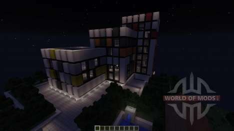 Futuristic Modern House: The Exige for Minecraft