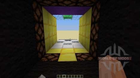 3 X 3 Piston door for Minecraft