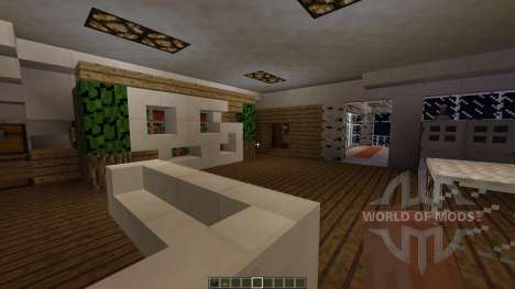 Sync A Small Modern House for Minecraft