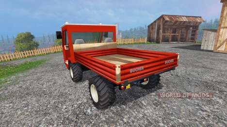 Bucher TR2400 for Farming Simulator 2015