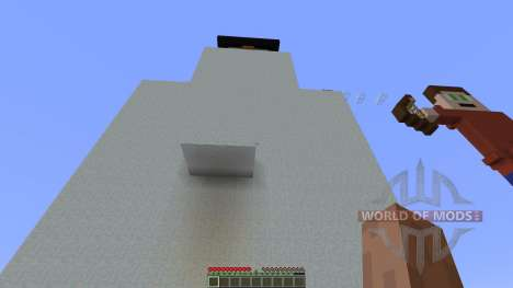 Shot Snowman Parkour for Minecraft