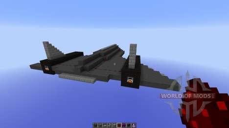 SR-71 BlackBird for Minecraft