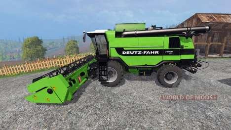 Deutz-Fahr 7545 RTS v1.2.2 for Farming Simulator 2015