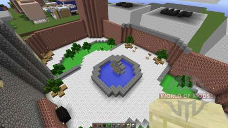 Mario 64 Full Map all 15 areas done for Minecraft