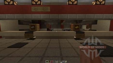 KFC Redstone powered for Minecraft