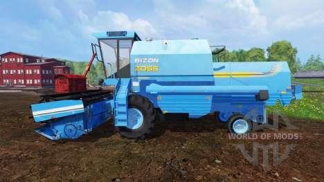 Bizon Z058 for Farming Simulator 2015