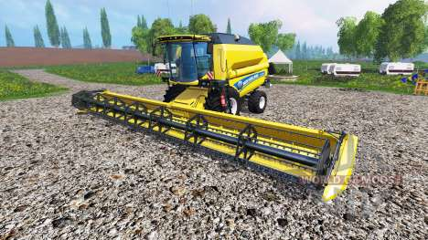 New Holland TC5.90 v1.1 for Farming Simulator 2015