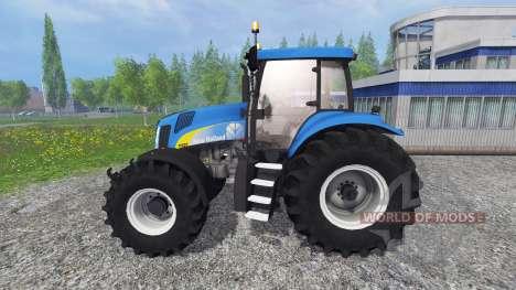 New Holland T8020 v4.5 for Farming Simulator 2015