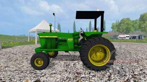 John Deere 4020 diesel for Farming Simulator 2015