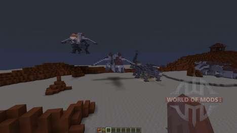 Star Wars Geonosis map for Minecraft