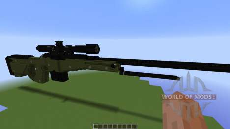 TNT Rifle: Awp for Minecraft