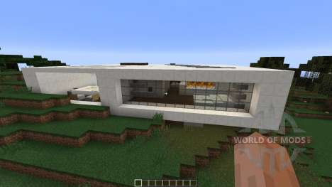 Contemporary Concept Home for Minecraft