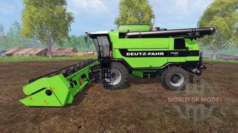 Deutz-Fahr 7545 RTS v1.2.4 for Farming Simulator 2015
