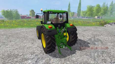 John Deere 6330 Premium FL for Farming Simulator 2015