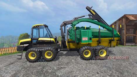 PONSSE Buffalo Wood Chipper v1.1 for Farming Simulator 2015