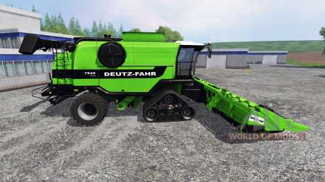 Deutz-Fahr 7545 RTS [green beast] for Farming Simulator 2015