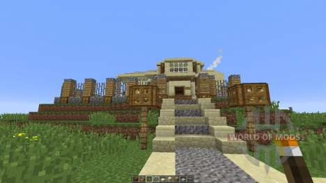 Modern Mansion xHollandia for Minecraft
