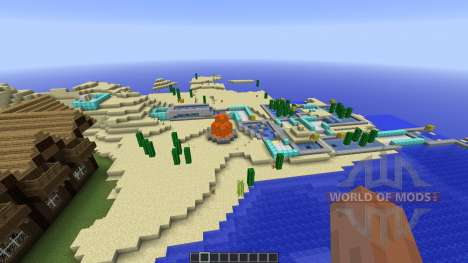 MINEGOLF Crazy Golf Putting Challenge for Minecraft