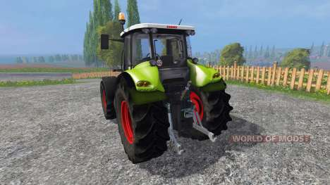 CLAAS Axion 820 v2.0 for Farming Simulator 2015