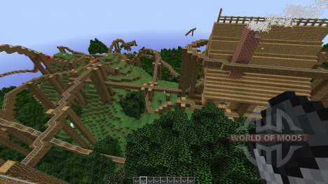 The Lost Island Adventure Coaster for Minecraft