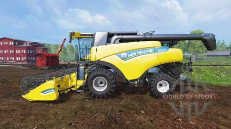 New Holland CR6.90 v0.7 [beta] for Farming Simulator 2015