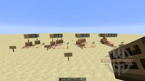 Double Triple Quadruple for Minecraft