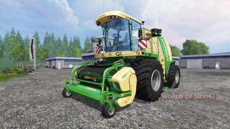 Krone Big X 1100 v1.1 for Farming Simulator 2015