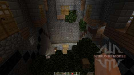 Dianites Fortress Overgrown for Minecraft