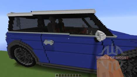 Mini Cooper for Minecraft