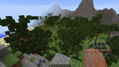 Tropical Island for Minecraft