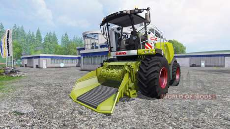 CLAAS Jaguar 980 [forest] for Farming Simulator 2015