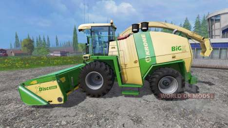 Krone Big X 1100 [original colors] for Farming Simulator 2015