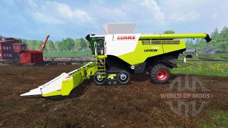 CLAAS Lexion 780TT for Farming Simulator 2015