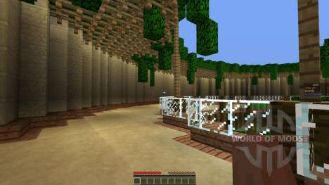 Arena Map w Classes for Minecraft
