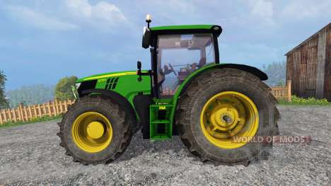 John Deere 6170R v2.1 for Farming Simulator 2015