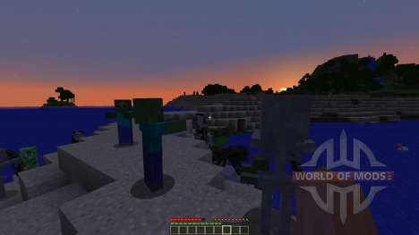 Ender Island A Difficult Island Survival Map for Minecraft