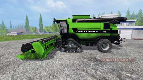 Deutz-Fahr 7545 [washable] v1.1 for Farming Simulator 2015