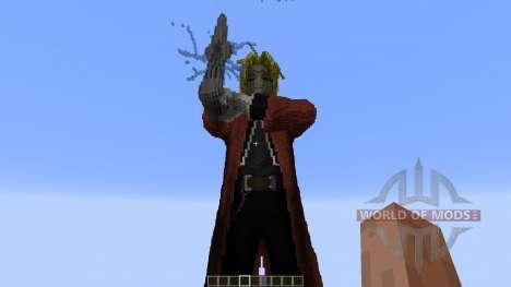 Edward Elric Fullmetal Alchemist for Minecraft