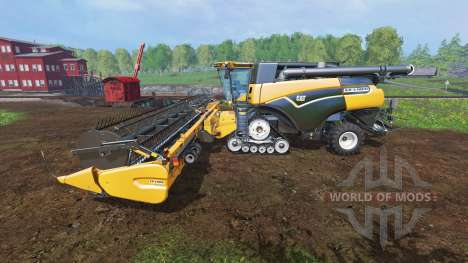 Caterpillar Lexion 590R v1.41 [fix edited] for Farming Simulator 2015