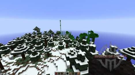 Stonehearth Castle LittleBlocks Mod for Minecraft