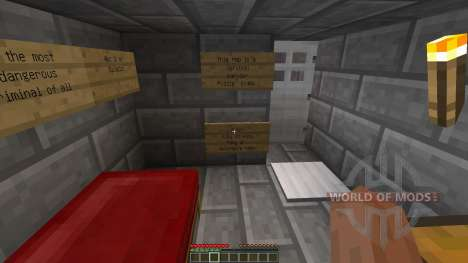 Escape from Coldwraith Prison for Minecraft