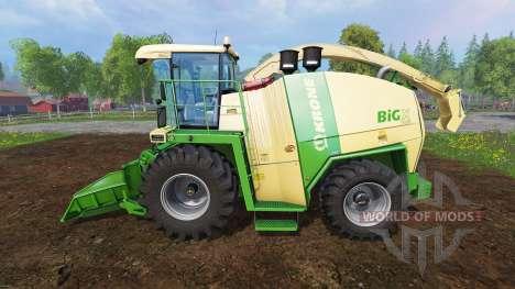 Krone Big X 1100 [crusher] for Farming Simulator 2015