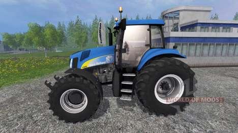 New Holland TG 285 for Farming Simulator 2015