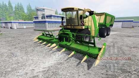 Krone Big X 650 Cargo for Farming Simulator 2015