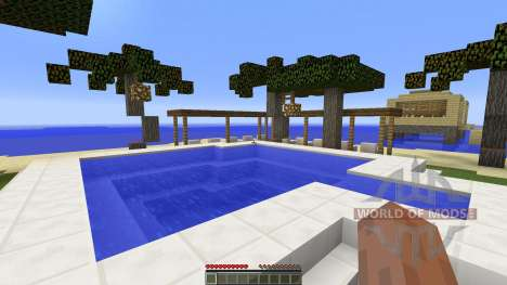 Holiday island for Minecraft
