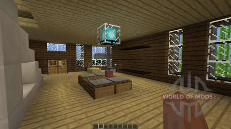 Contrast A Minimal Modern Home for Minecraft